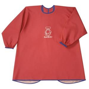 Babybjörn Unisex Norway Assort Baby feeding Red Eat and Play Smock Red