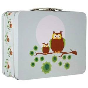 Blafre Unisex Baby Gear Lunch boxes and containers Multi Lunchbox Blue Owls
