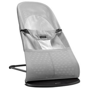 Babybjörn Unisex Baby Gear Bouncers and swings White Babysitter Balance Soft Silver/White Mesh