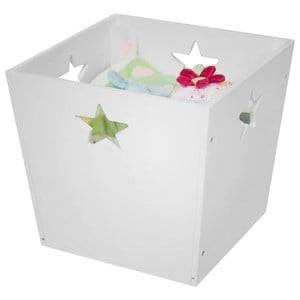 Kids Concept Unisex Storage White Storage Box Star White