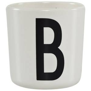 Design Letters Unisex Norway Assort Tableware White Melamine Cup B