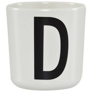 Design Letters Unisex Norway Assort Tableware White Melamine Cup D