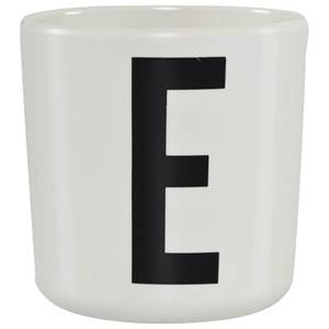 Design Letters Unisex Norway Assort Tableware White Melamine Cup E