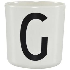Design Letters Unisex Norway Assort Tableware White Melamine Cup G