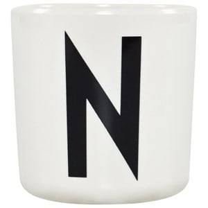 Design Letters Unisex Norway Assort Tableware White Melamine Cup N