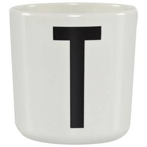 Design Letters Unisex Norway Assort Tableware White Melamine Cup T