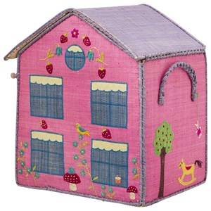 RICE A/S Unisex Storage Pink Cottage Storage Box