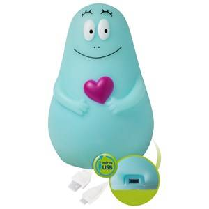 Pabobo Unisex Norway Assort Lighting Blue Barbapapa Lumilove Night Light Blue