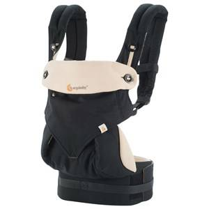 Ergobaby Unisex Norway Assort Carriers and slings Black Four Position 360 Baby Carrier Black/Camel