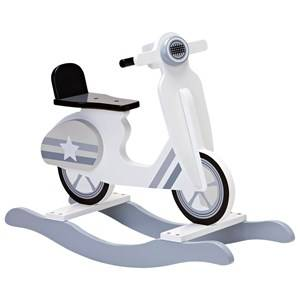 Kids Concept Unisex Ride ons and walkers Grey Rocking Vespa Grey