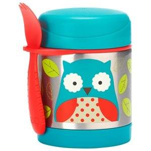 Skip Hop Unisex Norway Assort Lunch boxes and containers Brown Zoo Insulated Food Jar Owl
