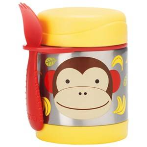 Skip Hop Unisex Norway Assort Tableware Brown Zoo Insulated Food Jar Monkey