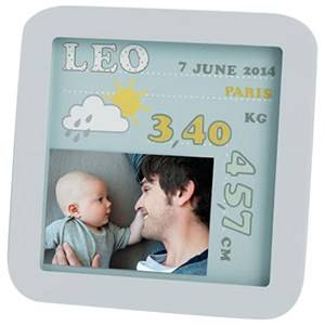 ART Baby Art Unisex Home accessories Multi My Birth Date Picture Frame