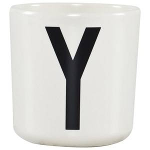 Design Letters Unisex Norway Assort Tableware White Melamine Cup Y