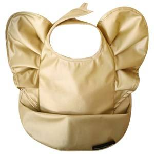 Elodie Details Unisex Baby Gear Baby feeding Gold Bib Golden Wings