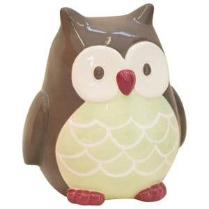 Kids Concept Unisex Storage Green Money Box Owl Pumpkin