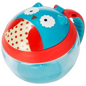 Skip Hop Unisex Norway Assort Tableware Multi Zoo Snack Cup Owl