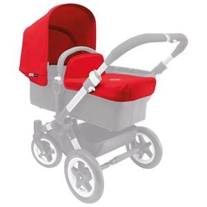 Bugaboo Unisex Stroller accessories Red Donkey Tailored Fabric Set Red