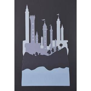 Kids Concept Unisex Home accessories Grey Wall Stickers Fairy  Grey