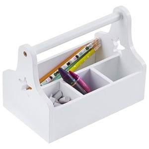 Kids Concept Unisex Storage White Star Storage Box White