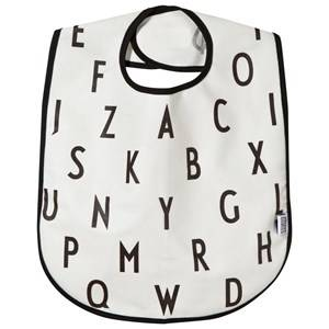 Design Letters Unisex Norway Assort Baby feeding White AJ Bib