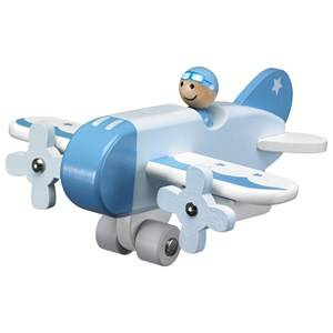 Kids Concept Unisex Vehicles Blue Airplane Blue