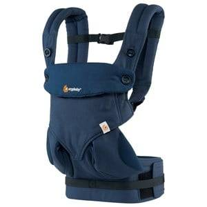 Ergobaby Unisex Norway Assort Carriers and slings Navy Ergobaby Four Position Baby Carrier Mid-Night Blue