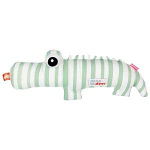 Done by Deer Unisex Norway Assort Soft toys Green Croco Soft Toy Green