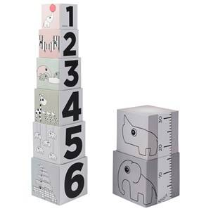 Done by Deer Unisex Construction Multi Stacking Cubes 123