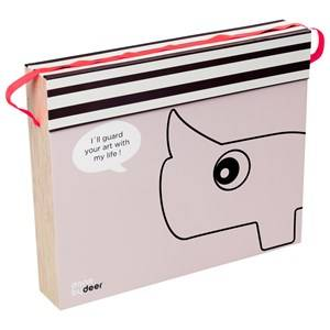 Done by Deer Unisex Storage Pink Art Box Powder