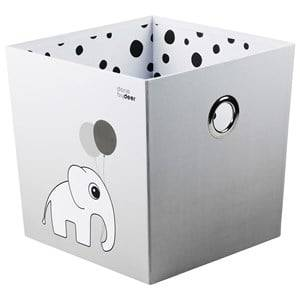 Done by Deer Unisex Storage Grey Stacking Box Happy Dots Grey