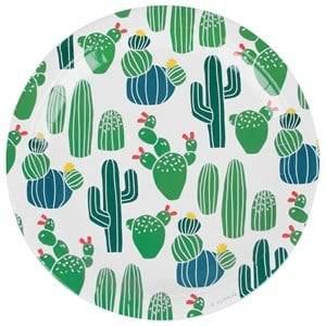 My Little Day Unisex Tableware Multi 8 Papers Plates - Cactus