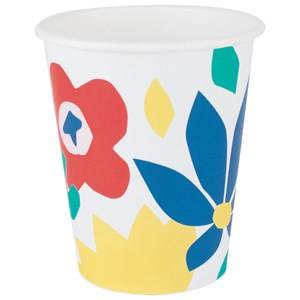 My Little Day Unisex Tableware Multi 8 Paper Cups - Tropical Flowers