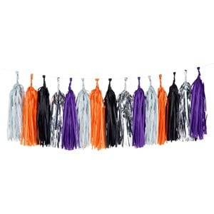 My Little Day Unisex Tableware Multi Tassel Garland - Halloween