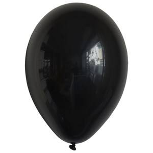 My Little Day Unisex Tableware Black 10 Balloons - Black
