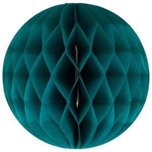 My Little Day Unisex Tableware Green Honeycomb Paper Ball - Teal