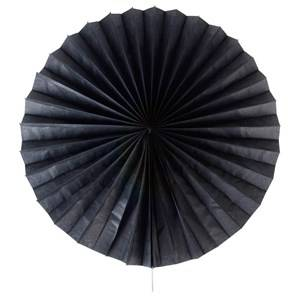 My Little Day Unisex Tableware Black Paper Fan - Black