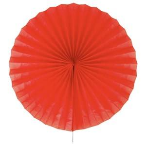 My Little Day Unisex Tableware Red Paper Fan - Red
