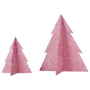 My Little Day Unisex Tableware Pink Glitter Christmas Tree - Pink - Large