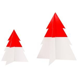 My Little Day Unisex Tableware Red Two-Colored Christmas Tree - Red - Small