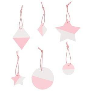 My Little Day Unisex Tableware Pink Two-Colored Geometric Decorations - Light Pink
