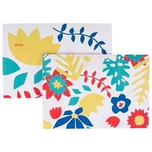 My Little Day Unisex Tableware Multi 8 Invitations - Tropical Flowers