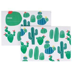 My Little Day Unisex Tableware Multi 8 Invitations - Cactus
