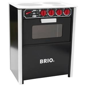 Brio Unisex Role play Black Stove Black