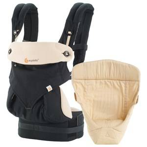 Ergobaby Unisex Norway Assort Carriers and slings Black Four Position Bundle of Joy 360 Baby Carrier Black and Camel