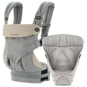 Ergobaby Unisex Norway Assort Carriers and slings Grey Four Position Bundle of Joy 360 Baby Carrier Grey
