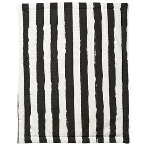 Noe & Zoe Berlin Unisex Textile White Playmat Retangle Black Stripes XL