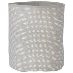 ferm LIVING Unisex Storage Grey Grey Cross Basket - Medium