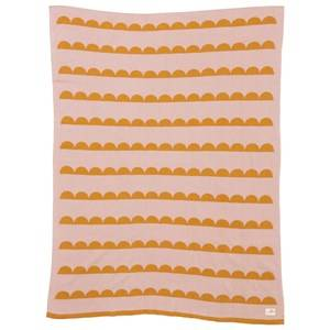 ferm LIVING Unisex Textile Multi Little Half Moon Blanket