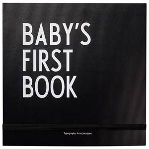 Design Letters Unisex Norway Assort Reading Black Baby´s First Book Black